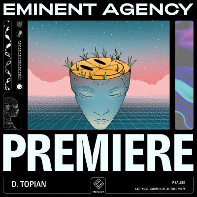 d topian realise album artwork